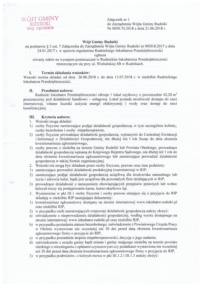 Zarządzenie - ogłoszenie o naborze RIP str. 1.jpeg