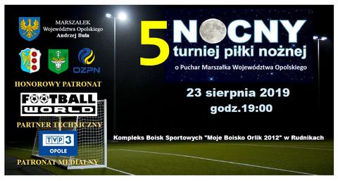 Plakat V Nocny Turniej Piłki Nożnej - Rudniki 2019.png