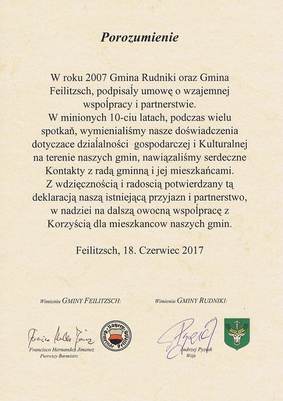 Porozumienie z Gminą Feilitzsch 2017 r..jpeg