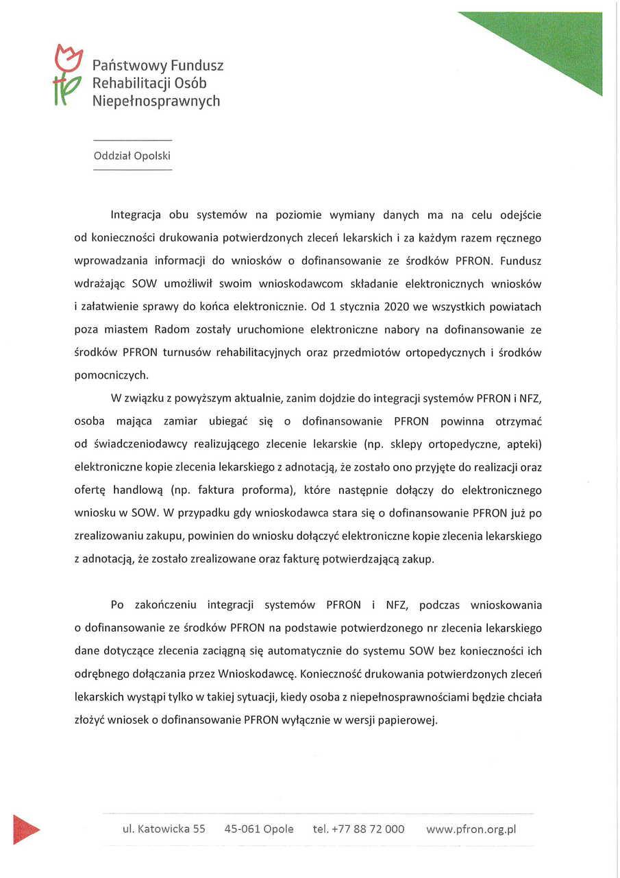 Komunikat PFRON, NFZ -2.jpeg