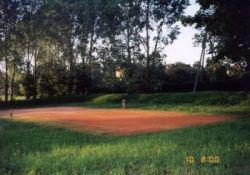 Kort tenisowy w Rudnikach