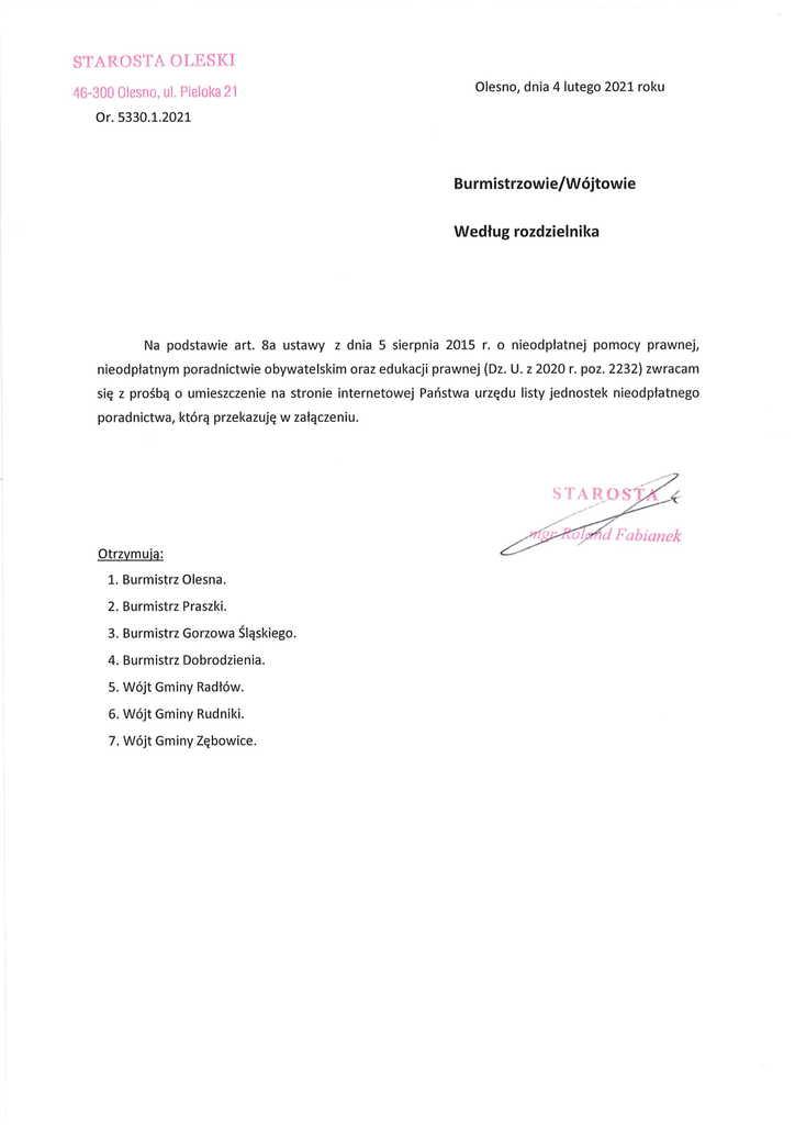 pismo Starosty Oleskiego do wójtów i burmistrzów-1.jpeg