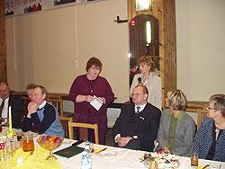Delegacja Szwedzka podczas spotkanie w GOKSiR w Rudnikach