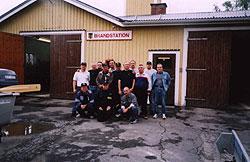 Nasi strażacy z kolegami ze Szwecji