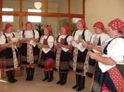 Występ zespołu folklorystycznego
