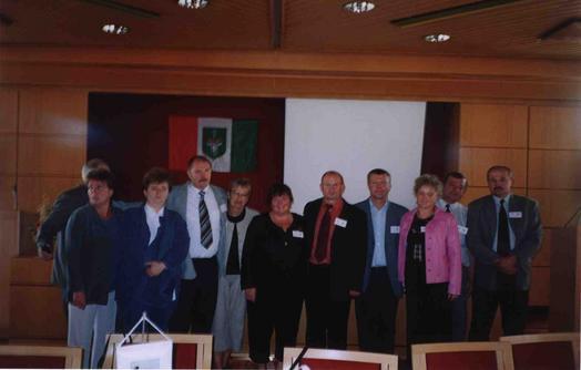 Delegacja Gminy Rudniki w Szwecji