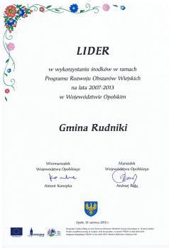 Lider w wykorzystywaniu środków PROW 2007-2013.jpeg