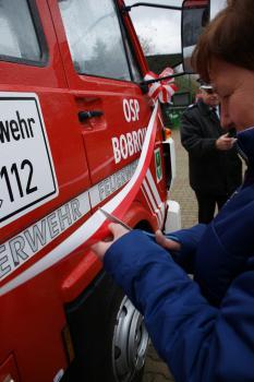 Galeria Nowy samochód dla OSP Bobrowa