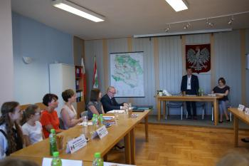 Galeria I sesja Dziecięcej Rady Gminy