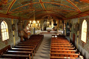 Wnętrze kościoła parafialnego p.w. św. Marcina w Żytniowie