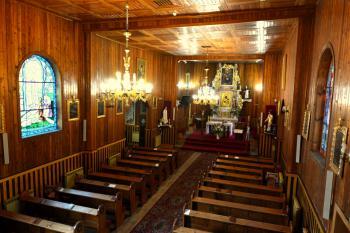 Wnętrze kościoła parafialnego p.w.św.Trójcy w Jaworznie