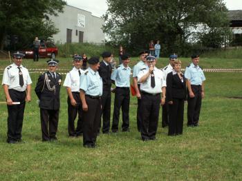 rozpoczęcie zawodów strażackich w Zytniowie.jpeg