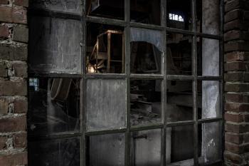 Nieczynna cegielnia w Faustiance